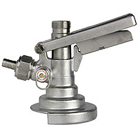 A System Stainless Steel Keg Tap Coupler