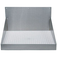 Barrel Head Stainless Steel Wall Mount Drip Tray