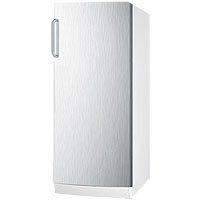10.1 Cu. Ft. All-Refrigerator - Stainless Steel Door