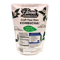 Basic Coconut Green Tea Kombucha Starter Kit