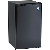 4.4 Cu. Ft. Refrigerator with Chiller Compartment - Black