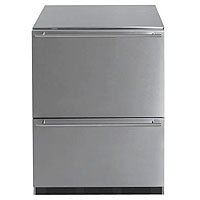 Commercial Stainless Steel 2-Drawer Refrigerator