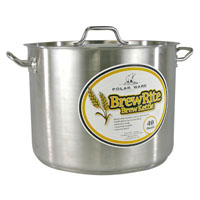 40 Qt. BrewRite Stainless Steel Brew Kettle