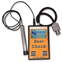 Beer Check Gas Analyzer with Leak Sensor Wand