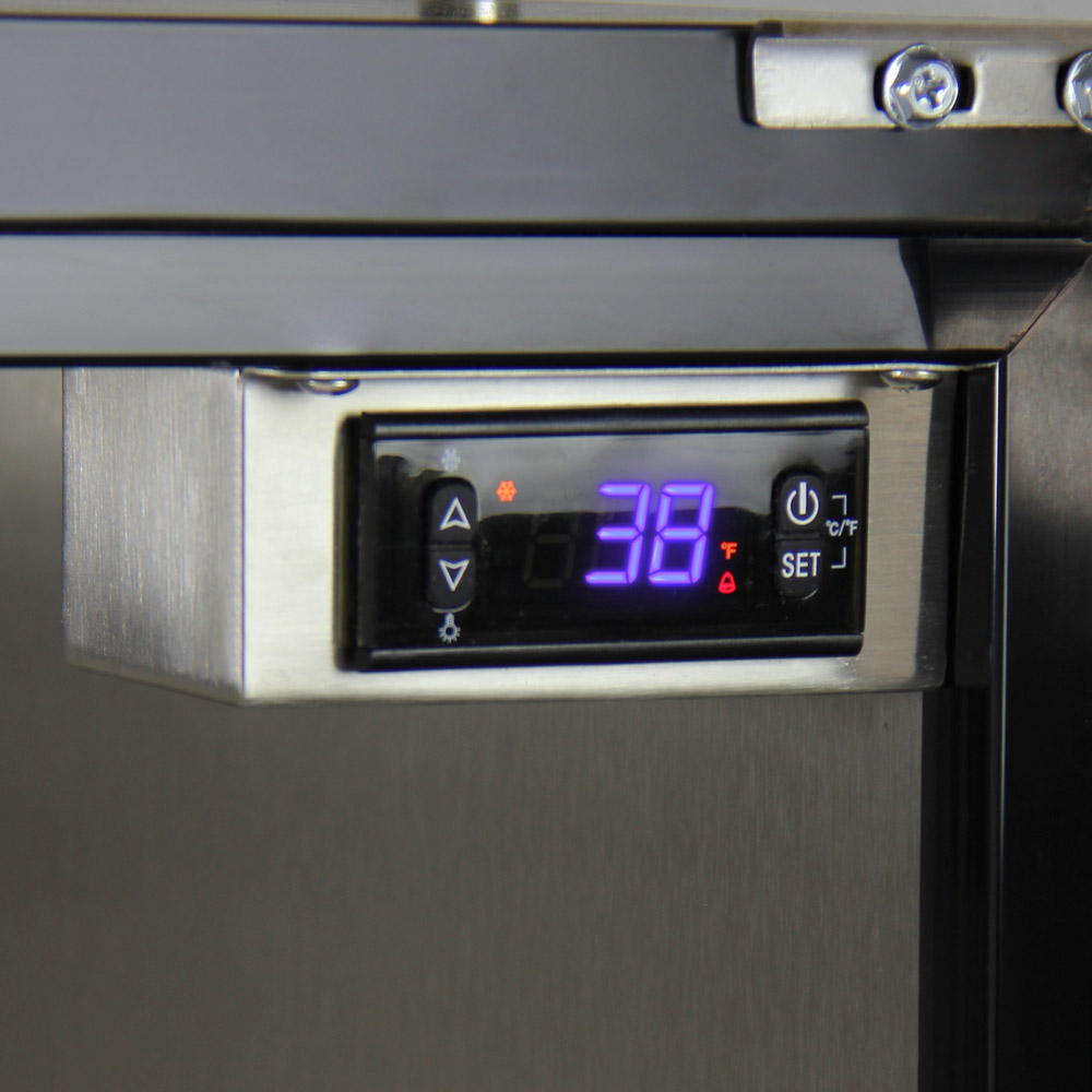 Kegco HK38BSU-3 Triple Faucet Digital Under-Counter Keg Beer ...