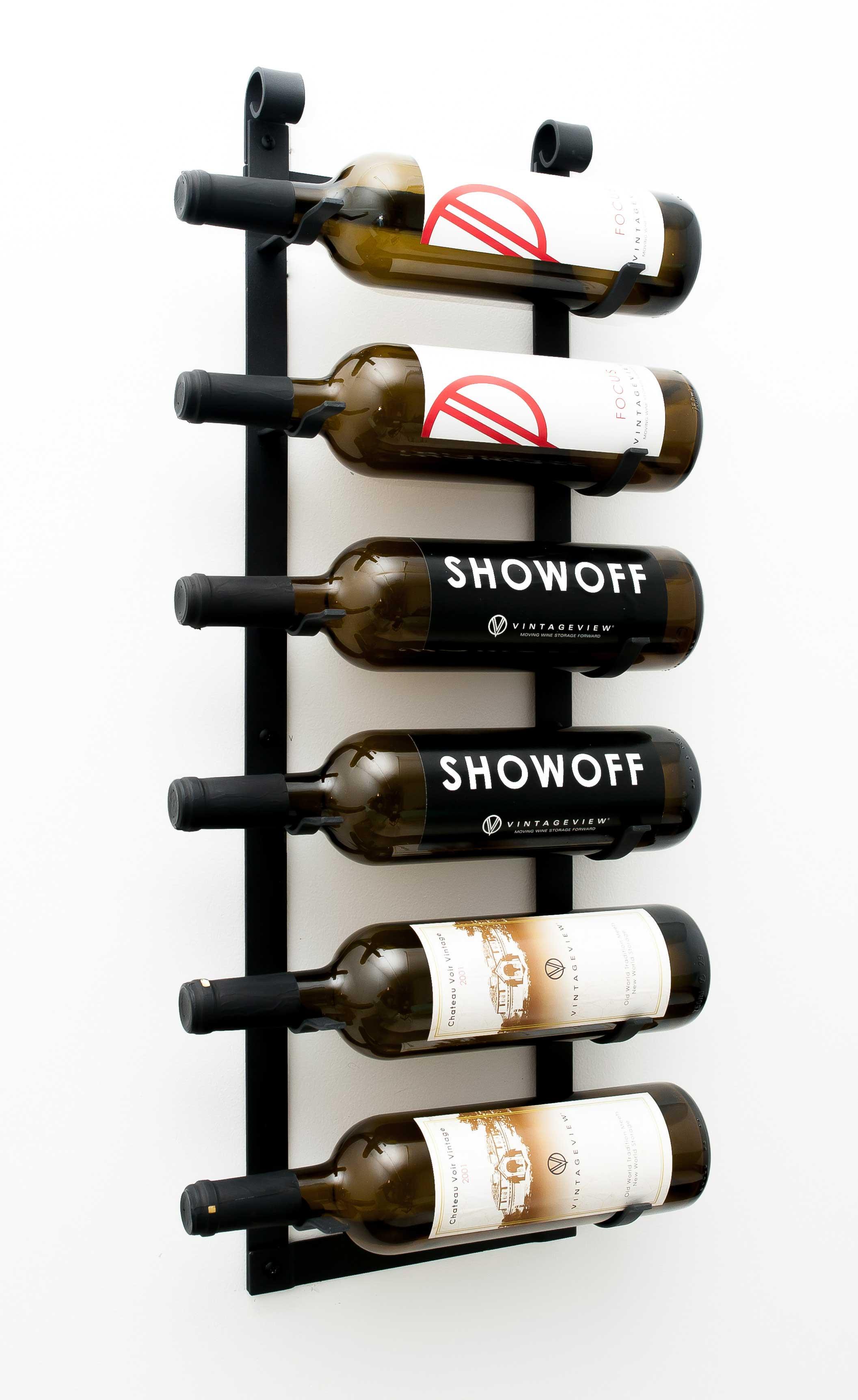 Vintageview Lr1 Le Rustique Decorative Wine Rack Black