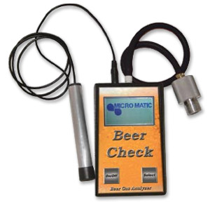 Photo of Beer Check Gas Analyzer with Adapter & Leak Sensor Wand