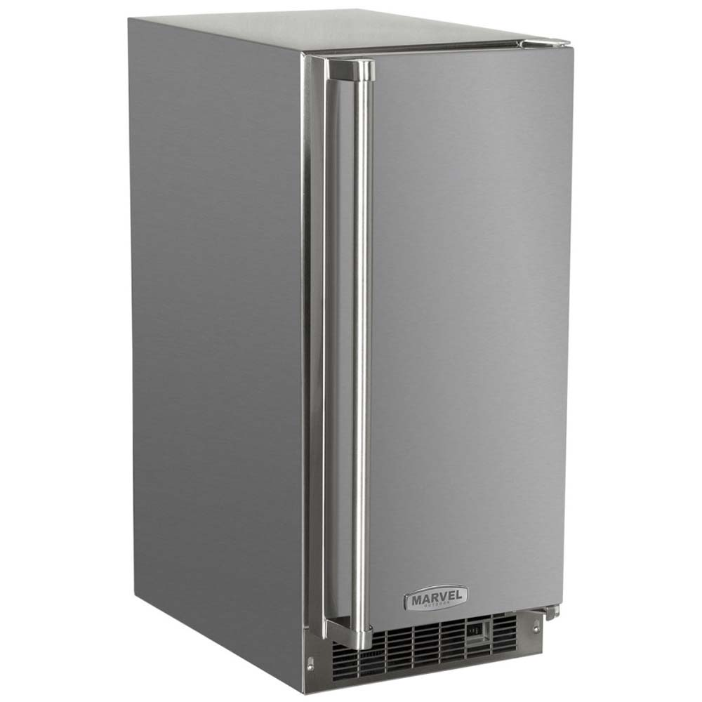 15 Outdoor Clear Ice Machine Stainless Steel Cabinet And Solid Door