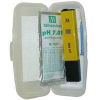 Milwaukee pH600-BOX pH Economical Pocket Tester
