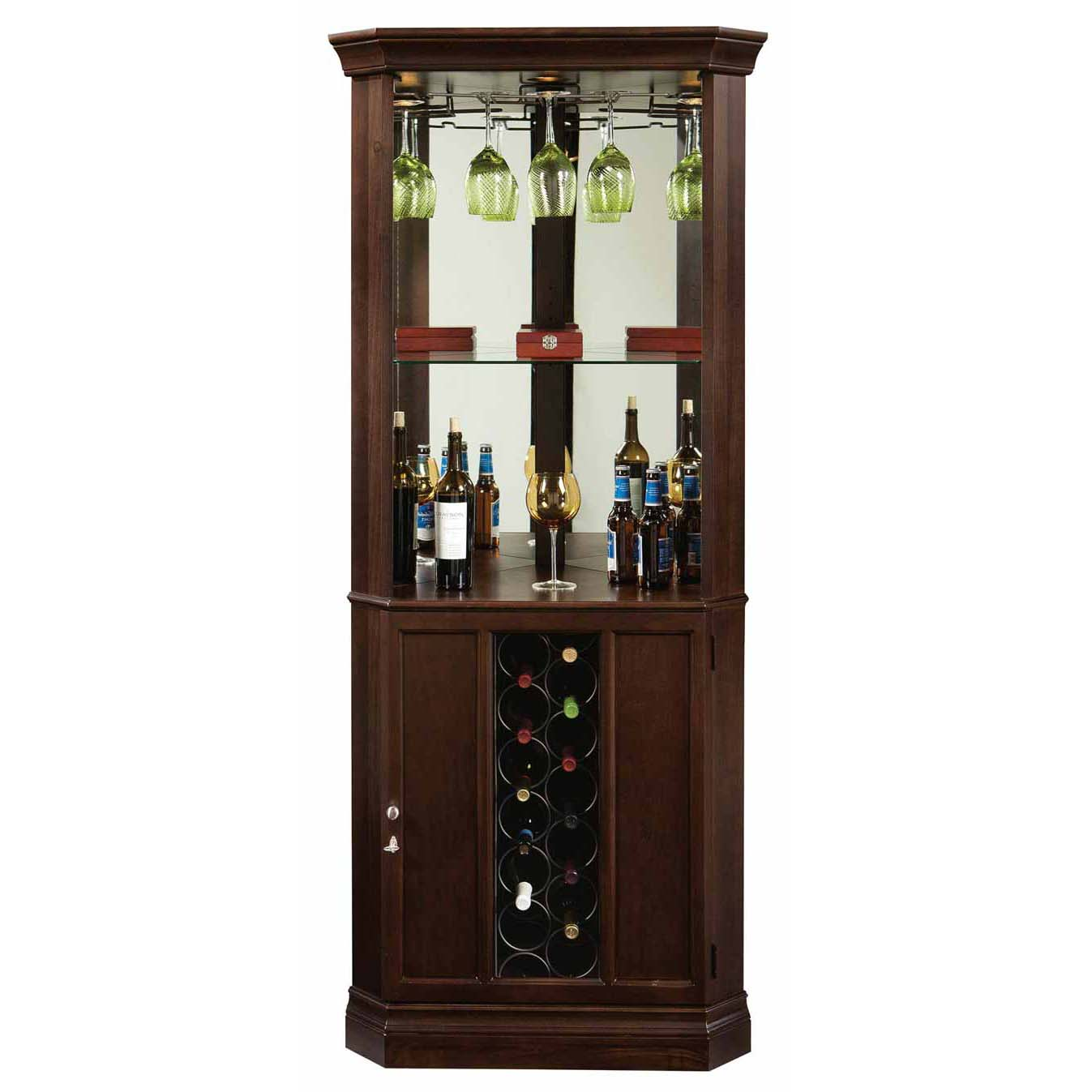 Cabinets For Home Bar: Howard Miller 690-007 Piedmont III Wine & Spirits Cabinet