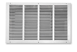 White Louvered Grill for CellarPro Cooling Systems