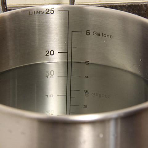 Brew Kettle - Batch Size