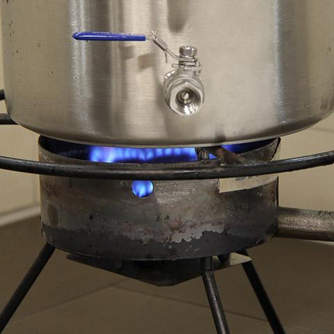 Brew Kettle - Burner Size