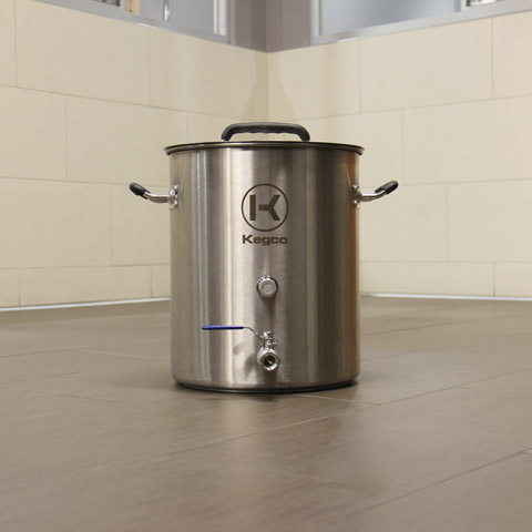 Brew Kettle - Brewing Area
