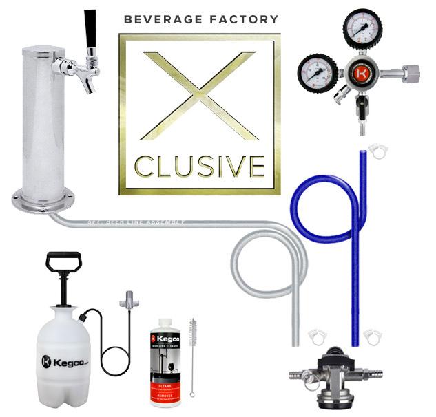 Beverage Factory X-clusive Kegerator Kit