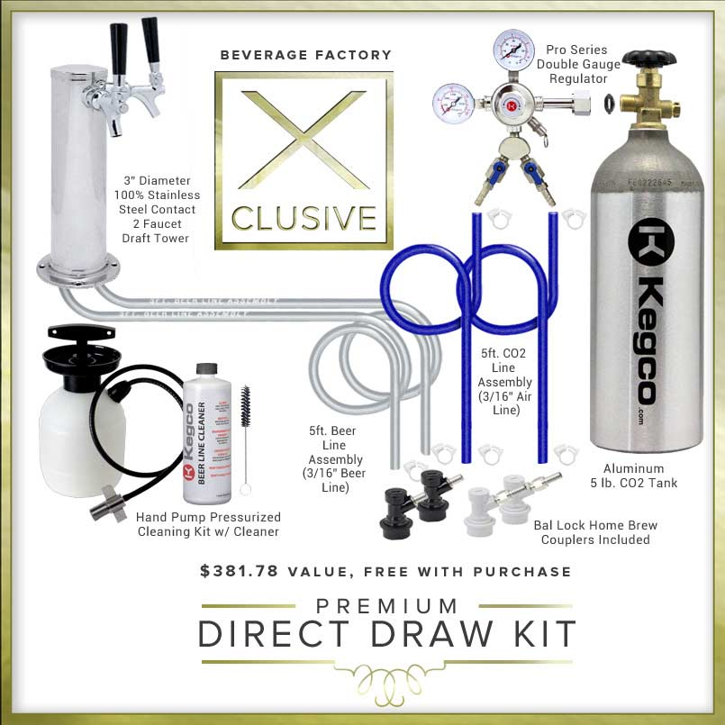 X-CLUSIVE Home Brew Direct Draw Kit.