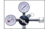NSF Commercial Grade Double Gauge Regulator