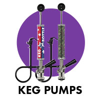 wrapped keg pumps