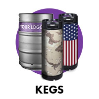 wrapped kegs