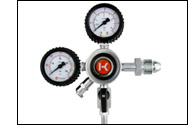 DOUBLE GAUGE NITROGEN REGULATOR