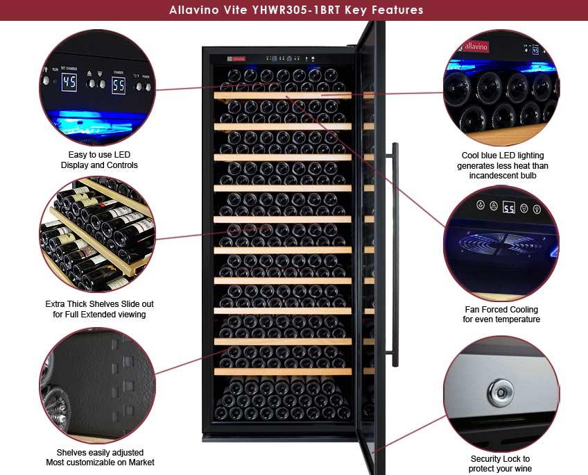 YHWR305-1BRT Features