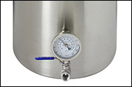 10 Gallon Stainless Steel Brew Pot