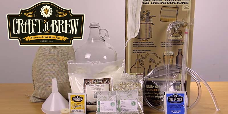 Craft A Brew Beer Brewing Kit