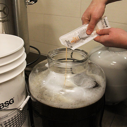 Pitch yeast - Irish Stout Recipe
