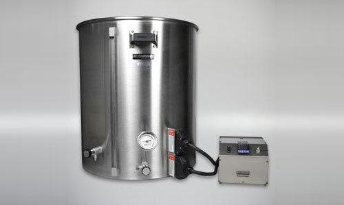 kettle with dual control