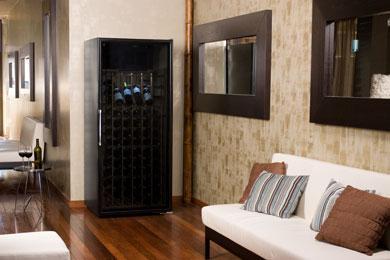 La Cache Wine Credenza : Le cache loft series wine cellar cabinets beveragefactory.com