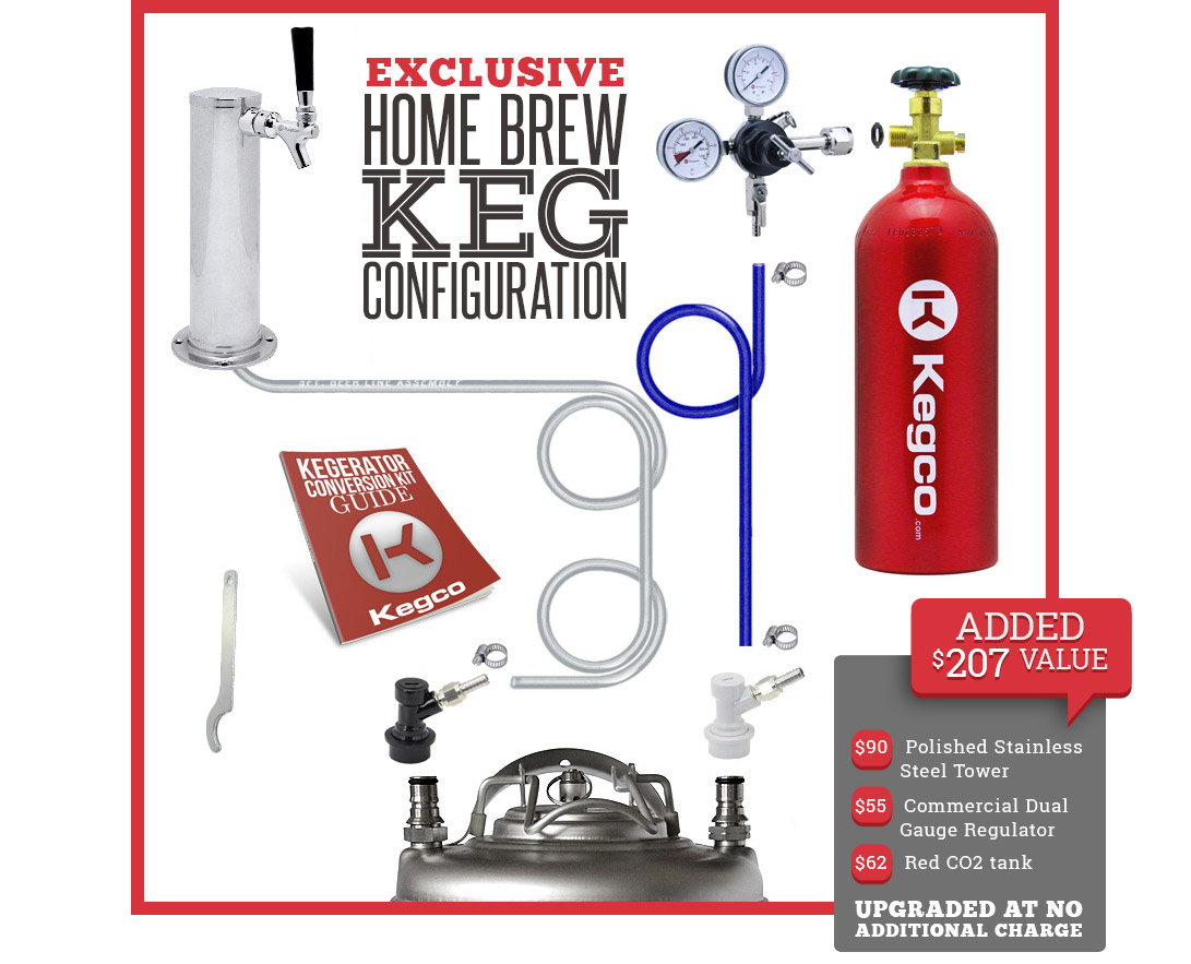 Kegco Hbk199s 1 Full Size Keg Cooler Beer Dispenser With Black Wiring Diagram For After You Place Your Of Homebrew In This Unit Will Have Everything Need To Begin Serving From The Tap And Getting Total Drinking