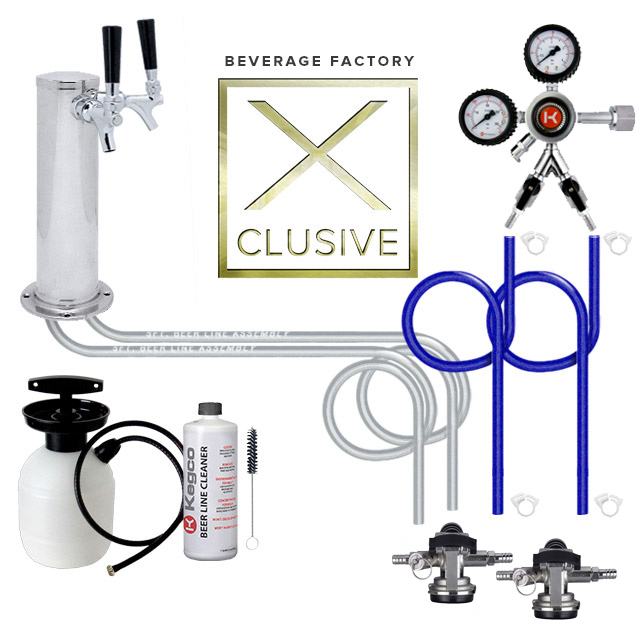 Beverage Factory X-clusive Kegerator kit