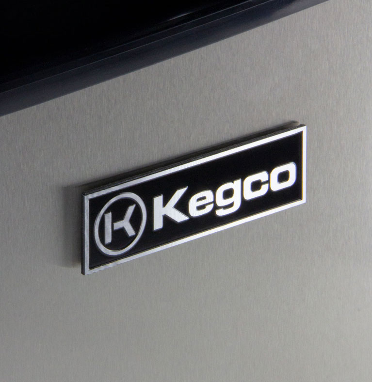 Triple faucet keg configuration for kegerators