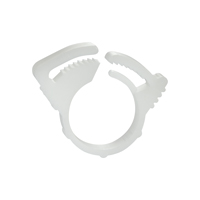 Plastic Reusable Clamp for 1/4 Inch ID Tubing