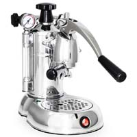 Stradivari Professional Espresso Maker - Black & Chrome