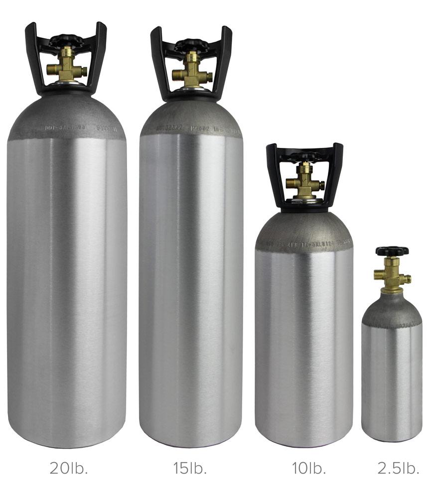 20 lb  Aluminum Co2 Tank