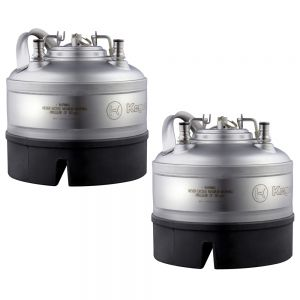 Photo of 1 Gallon Ball Lock Keg - Strap Handle - NSF Approved - Set of 2