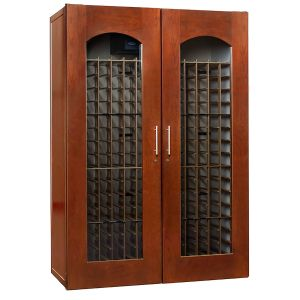 Photo of 3800 Series 458 Bottle Wine Cellar - Classic Cherry Finish