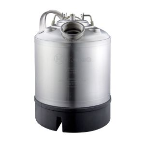 Photo of 9 Liter Keg Beer Cleaning Can with Single Valve Port
