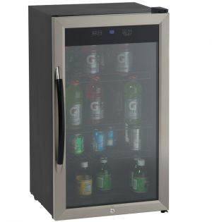 Photo of 3.0 CF Beverage Center with Stainless Steel Glass Door