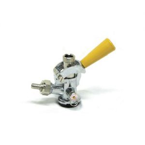 Photo of D System Keg Coupler - Gold Handle