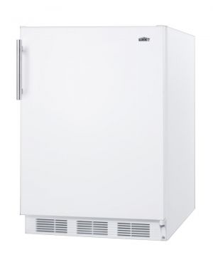 Photo of 5.1 Cu. Ft. ADA Compliant Compact Freestanding Refrigerator - White Door