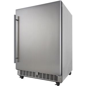 Photo of Silhouette Professional Aragon 5.5 Cu. Ft. Outdoor Rated Refrigerator - Stainless Steel