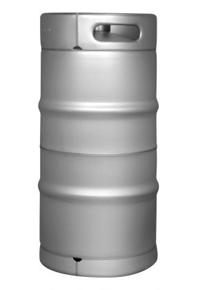 Photo of Brand New Slim 7.75 Gallon Commercial Kegs - Drop-In D System Sankey Valve