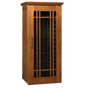 Photo of Mission 1400 172-Bottle Wine Cellar - Provincial Cherry Finish