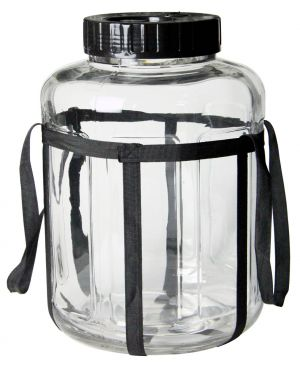 3 Photo of 4.75 Gallon Wide Mouth Glass Carboy