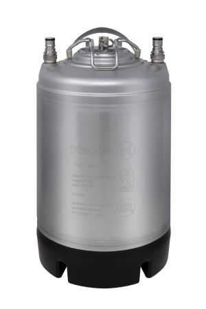 Photo of 2.5 Gallon Ball Lock Keg - Strap Handle - NSF Approved