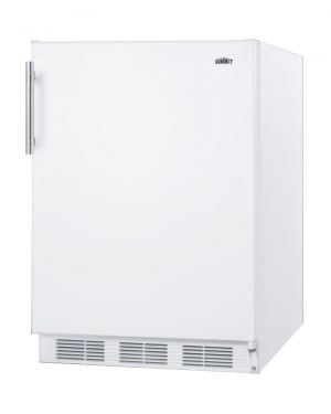 Photo of 5.5 Cu. Ft. Compact Built-In Refrigerator - White Door