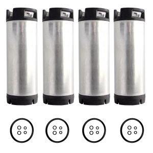 Photo of Set of 4 - Reconditioned  5 Gallon Pin Lock Kegs
