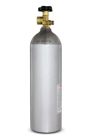 3 Photo of 22 Cu. Ft. Nitrogen Air Tank - High Pressure Aluminum Gas Cylinder